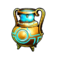 Gold Alchemia Pot