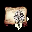Silver-Winged Dragon Medal Diagram Piece