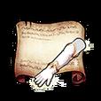 White Knight's Gauntlet Diagram Piece