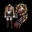 Mikasa Equipment Set