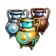 Mystic Tower Veda Fringe Dimension Official Release Celebration! Alchemia Pot Set