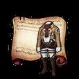 Mikasa's Uniform Diagram Piece