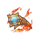 緋炎騎士団の徽章