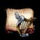 Goddess Harp Diagram Piece
