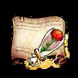 Sweet Rose Diagram Piece