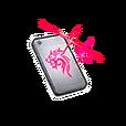 P's Lion Decal Phone Shard