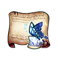 Crystal Papillon Diagram Piece