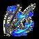 Bejeweled Cane Sword Cynthia