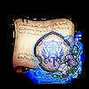 Blue Emblem of the 1st Regiment Diagram Piece