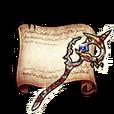 Diviner's Staff Diagram Piece