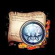 Inquisitor Insignia Diagram Piece