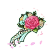 Flowery Corsage