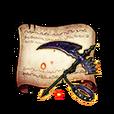 Unrequited Love Scythe Diagram Piece