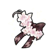 Sparkling Flower Hair Ornament Shard