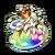 Rainbow Goddess Pot