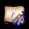 Sentimental Bookmark Diagram Piece