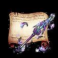 Legendary Spear Diagram Piece