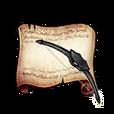 Archer Black Bow Diagram Piece