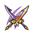 Mystic Hunt Twin-Blade Sword