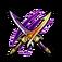 Mystic Hunt Twin-Blade Sword