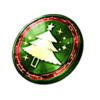 Winter Holiday Coin