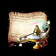 Magical Lamp Diagram Piece