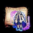 Chronometric Blue Robes Diagram Piece