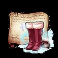 Rouge Long Boots Diagram Piece