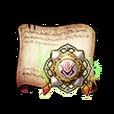 Scarlet Flame Guard Emblem Diagram Piece