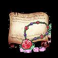 Rosette Necklace Diagram