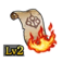 Scroll of Flames Lv2