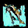 Fierce Azure Bow Shard