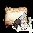 Radiant Flower Gloves Diagram