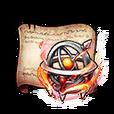 Raging Fire Orb Diagram Piece
