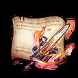 Efreet Blade Diagram Piece