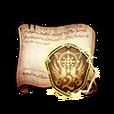 2nd Regiment Emblem Diagram Piece