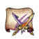 Mystic Hunt Twin-Blade Sword Diagram