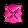 Demonic Destruction Twin-Blade Swordsman Token