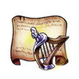 Twilight Harp Diagram Piece