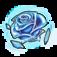Blue Crystal Rose