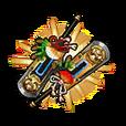 【Gear】 Lucky Duo 【Hagoita】