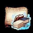 Magic Exam Textbooks Diagram Piece