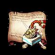 Survivor's Gold Seal Diagram Piece