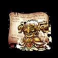 Golden Lion Armor Diagram Piece