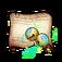 Kuzunoha's Lucky Bells Diagram Piece