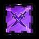 Mystic Hunt Twin-Blade Swordsman Token