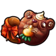 【February】 Groundhog Chocolate