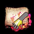 Steel Princess Gloves Diagram Piece
