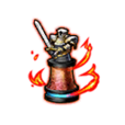 Flame Dragon Piece