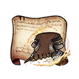 Mercenary Coat Diagram Piece